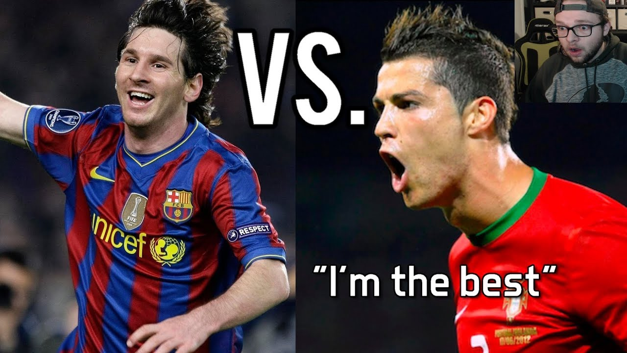 Clueless American Reacts To Lionel Messi Vs Cristiano Ronaldo Youtube