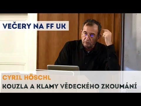 Cyril Höschl - Kouzla a klamy vědeckého zkoumání | Neurazitelny.cz | Večery na FF UK