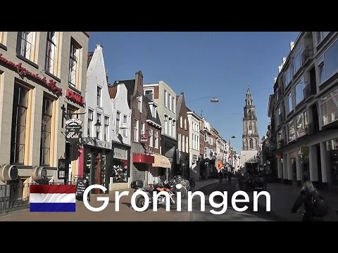 HOLLAND: Groningen city [HD]