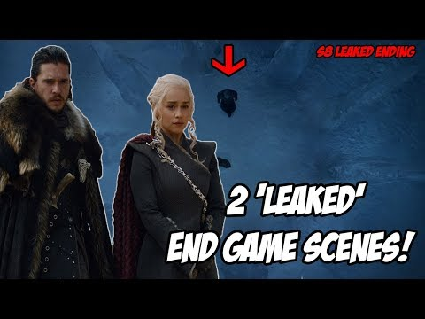 2 End Game LEAKS! Game Of Thrones Season 8 (Leaked Scenes)