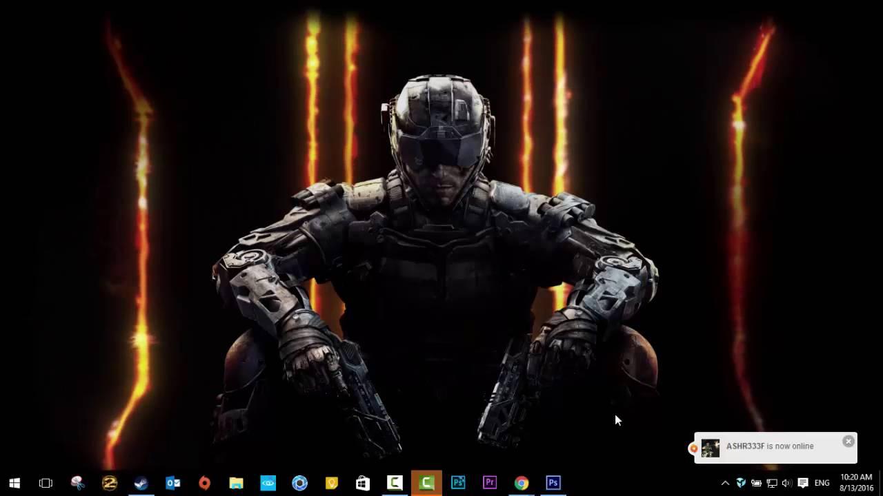 Set Live Wallpapers Animated Desktop Backgrounds In Windows