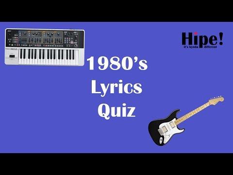 80's Lyrics Quiz