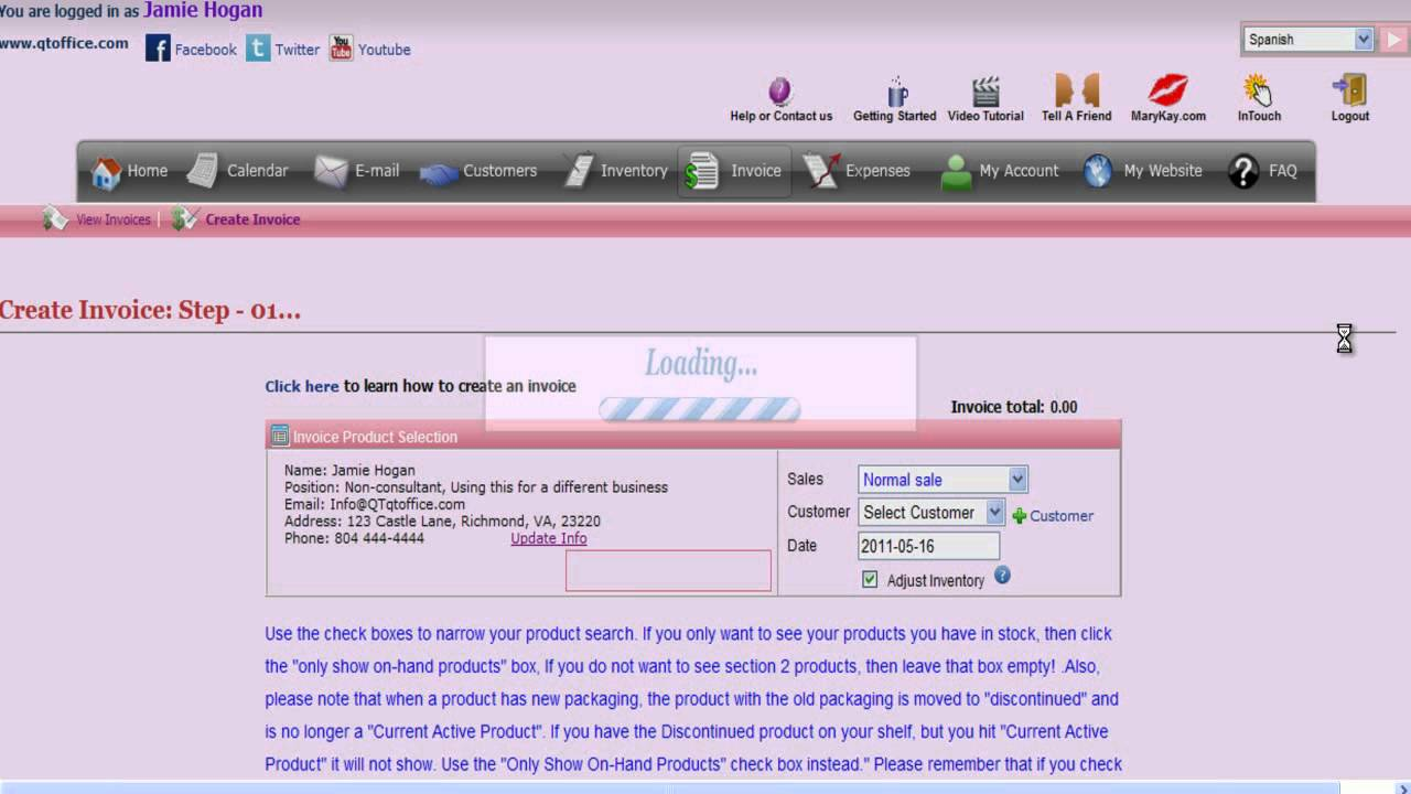How To Track Mary Kay Customer Delivery System CDS Invoices YouTube - How to track invoices