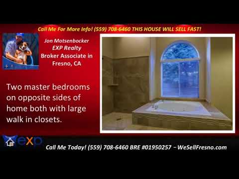 4 bed 3.5 bath homes for sale Fresno California -  with new tumbled stone flooring