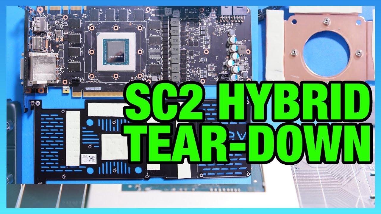 EVGA 1080 Ti SC2 Hybrid Tear-Down