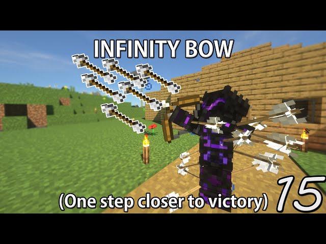 Infinity Bow! - Minecraft Hardcore Survival (15)