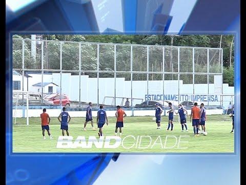 Nacional treina para decisão na Copa do Brasil nesta quarta-feira