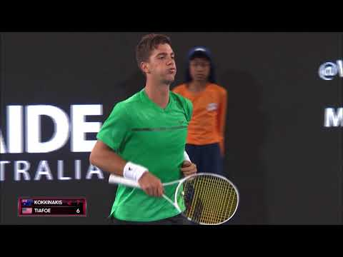 Thanasi Kokkinakis v Frances Tiafoe Men's Singles Final Highlights | World Tennis Challenge 2018