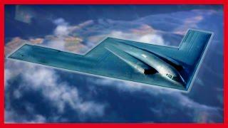 B-21 – новый американский стелс-бомбардировщик