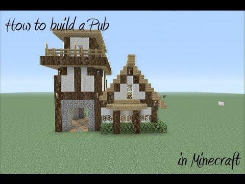 Minecraft Buildings Pub