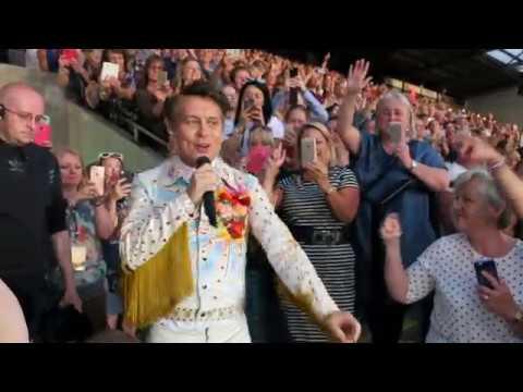 Mark Owen serenades fans at Take That Wonderland show in Norwich