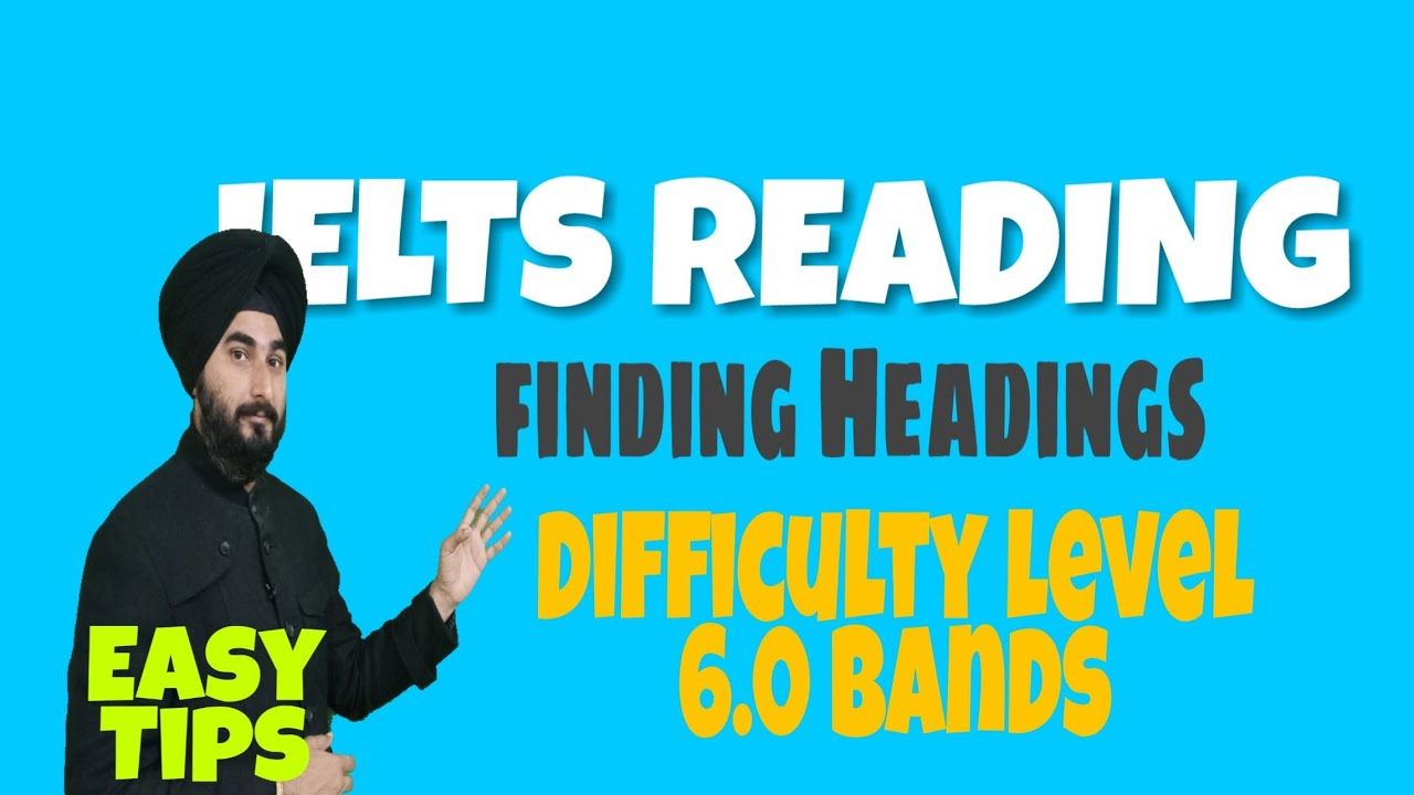 IELTS Reading Tips & Tricks Heading Finding | Ielts Heading Finding |  Mutual Harm 6 0 Band Challenge