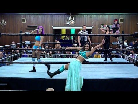 Valentina Loca \u0026 ACR vs. Hawlee Layne \u0026 Samara (SPARKLE Nov. 11, 2017 Berwyn, IL)