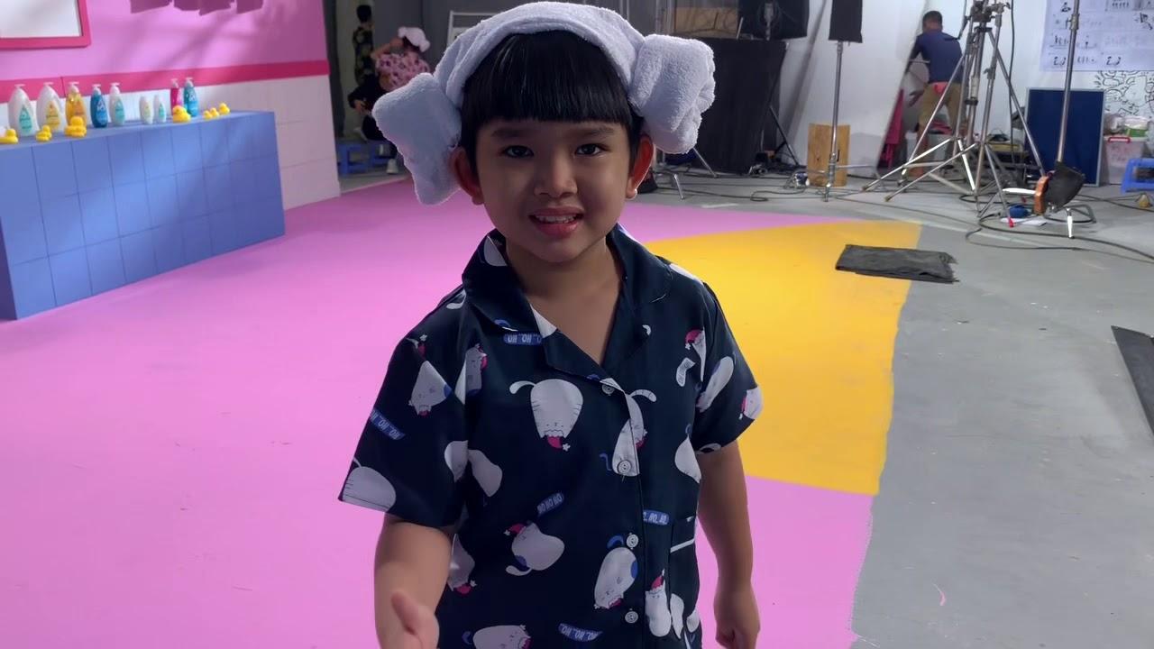 Hậu trường quay quảng cáo Johnson baby- Bảo Khánh mỹ nam nhí- Phần 2