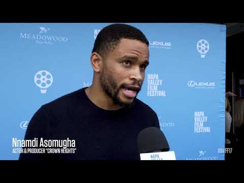 Nnamdi Asomugha on the Red Carpet | Crown Heights | NVFF17