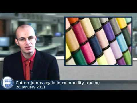 Cotton jumps again in commodity trading