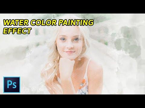 Membuat Efek Lukisan /Water Color Paint Effect - Photoshop Tutorial Indonesia thumbnail