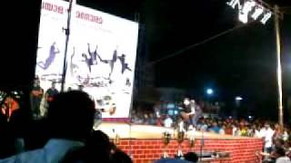 Kalaripayattu on stage at Villiappally near Vatakara Town