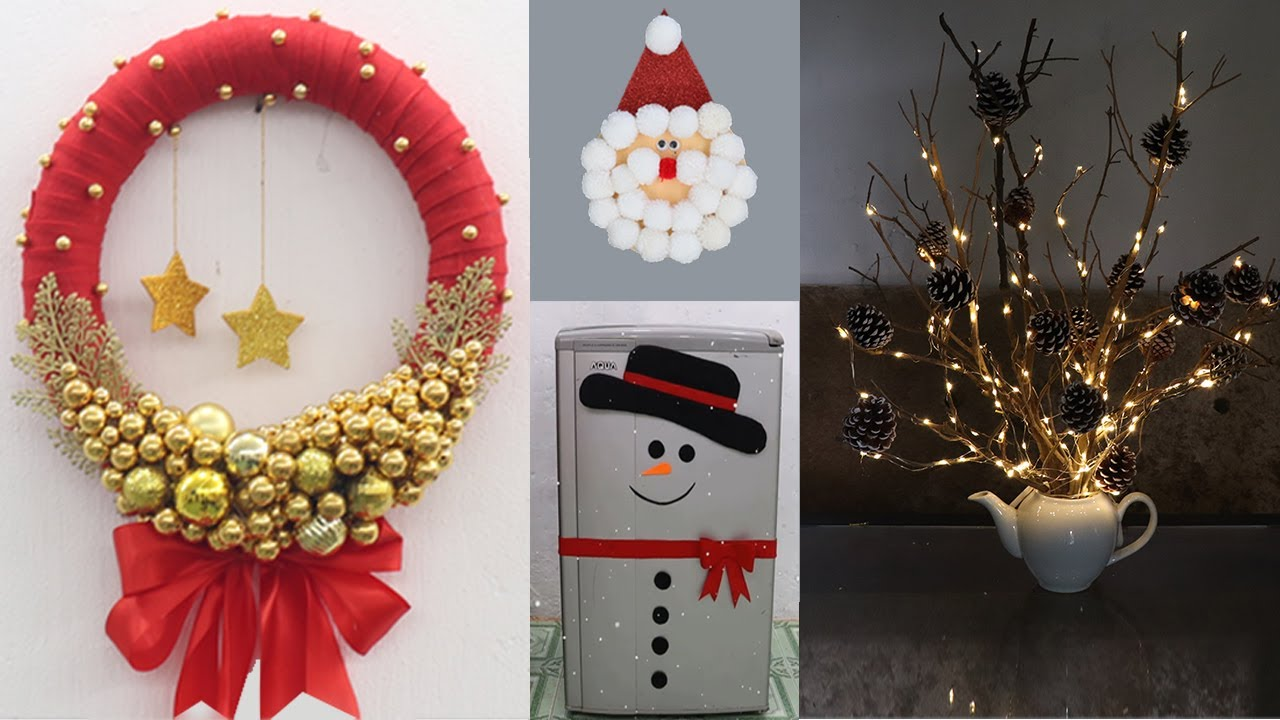 Christmas 2021 Decorating Ideas 15 Christmas Decoration Ideas At Home Christmas Decoration Ideas 2021 Youtube