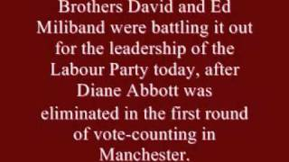 Ed Miliband Named New Labour Leader 25th September 2010.wmv