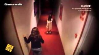 kid made up as horror movie specter freaks out hotel guests