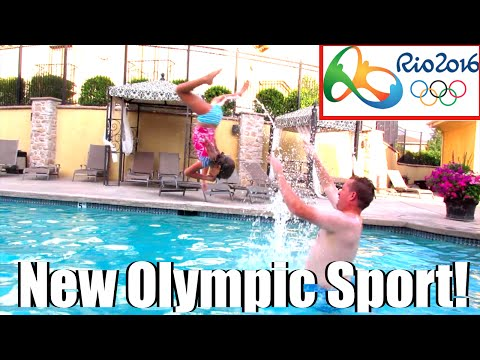 🏊🏆NEW OLYMPIC SPORTS ANNOUNCED AT RIO 2016 SUMMER OLYMPICS🏄⚽! OLYMPIC KID THROWING | DYCHES FAM