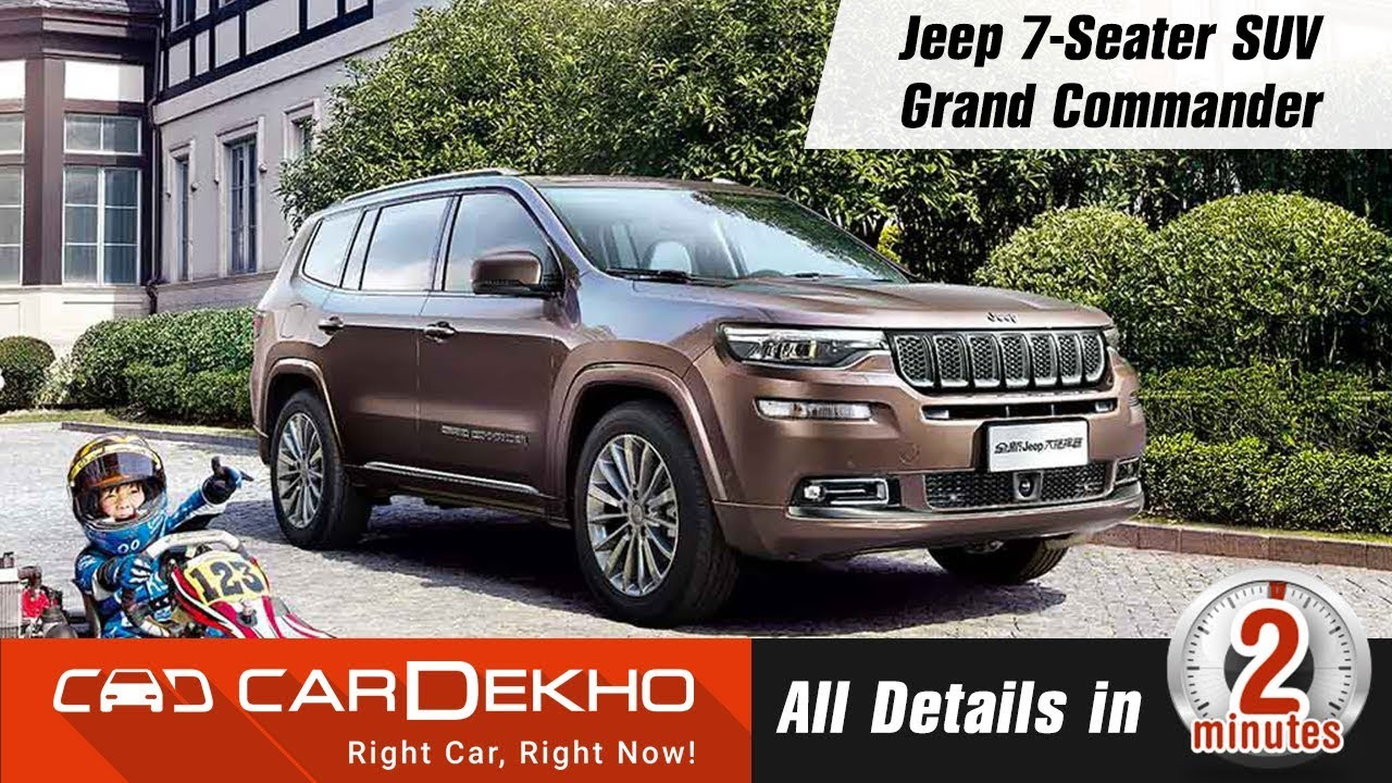 Jeep 7 Seater Suv Grand Commander All Details In2mins Youtube
