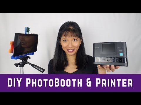 Raspberry Pi PhotoBooth with Printer Tutorial