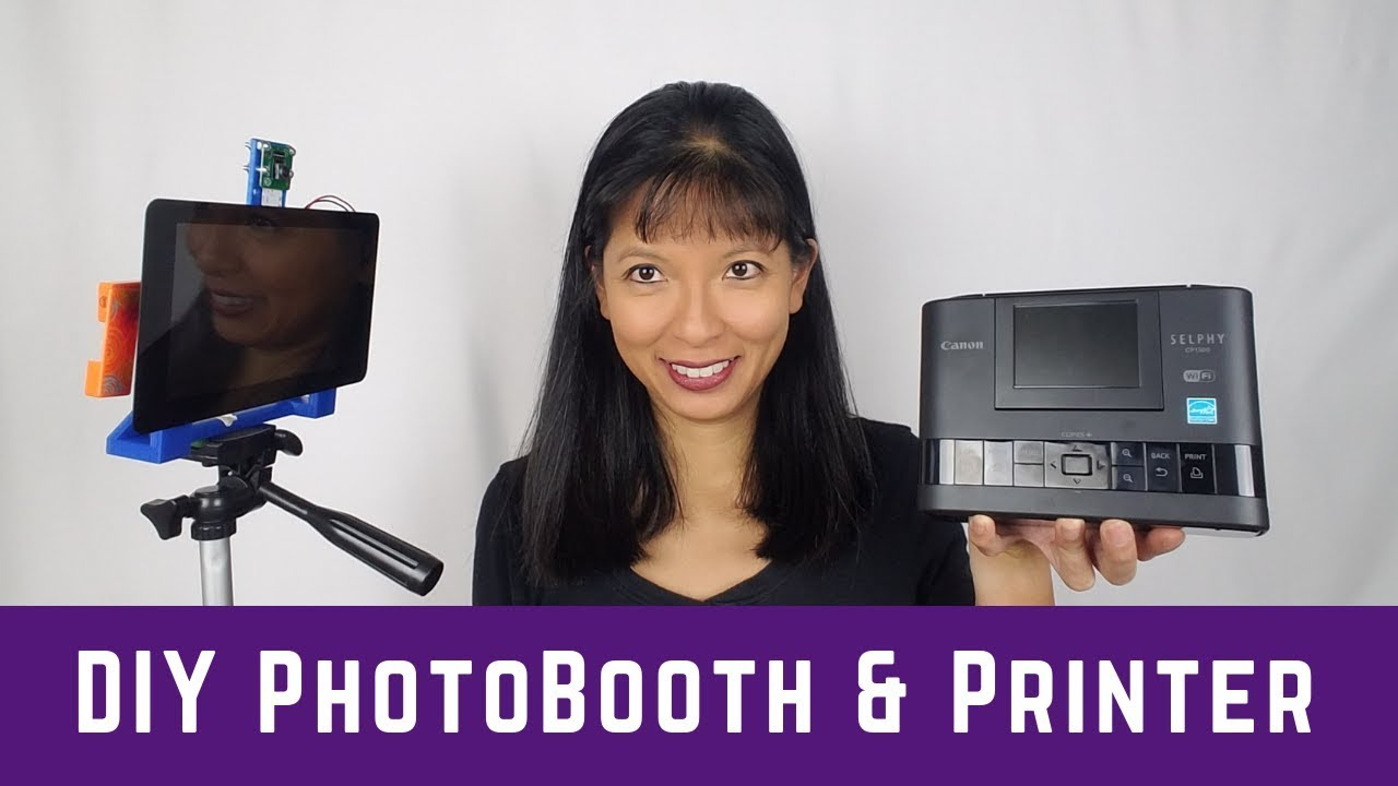 Raspberry Pi Photobooth With Printer Tutorial