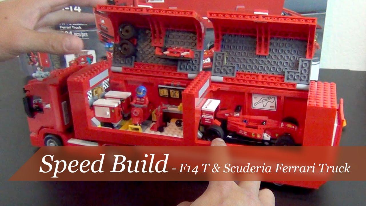 speed build lego speed champions f14t scuderia ferrari. Black Bedroom Furniture Sets. Home Design Ideas