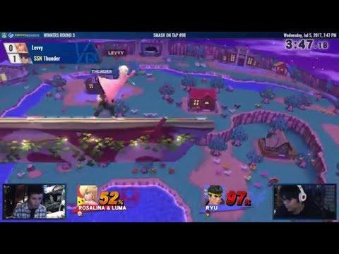 SOT #98 - Levvy (Bayo, Rosa) vs Thunder (Ryu) - Smash 4 WR3