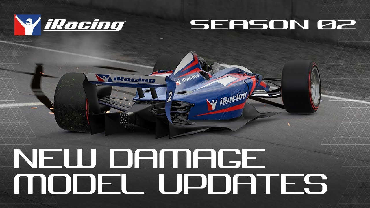 iRacing New Damage Model
