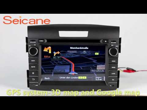 All in one 2012 2013 2014 Honda CRV bluetooth music audio system stereo with cd dvd radio