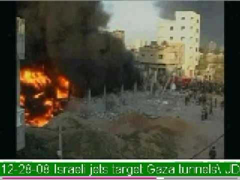 Israeli jets target Gaza tunnels