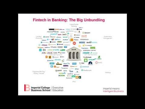 Executive Education Webinar on Fintech Innovative Banking