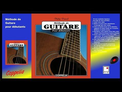 PARTITIONS - SHEET MUSIC - MÉTHODE DE GUITARE - POUR DÉBUTANTS - COPPELIA OLIVI