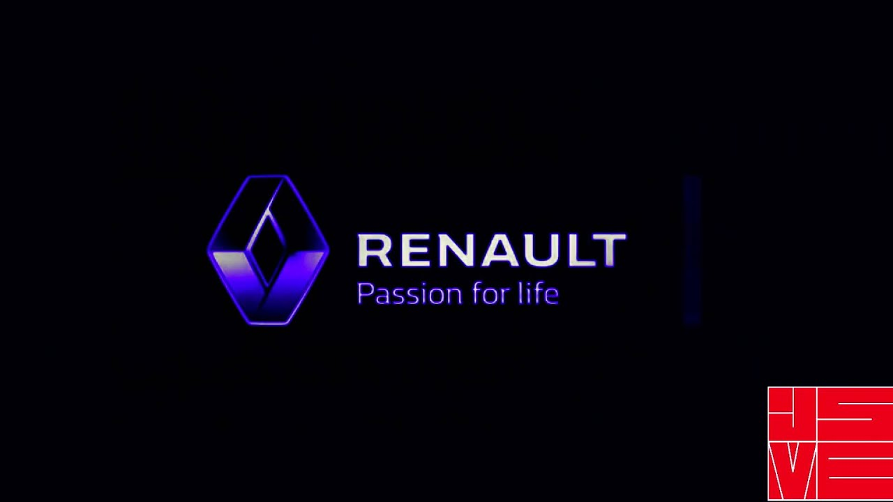 renault new logo in spectrum diamond - youtube