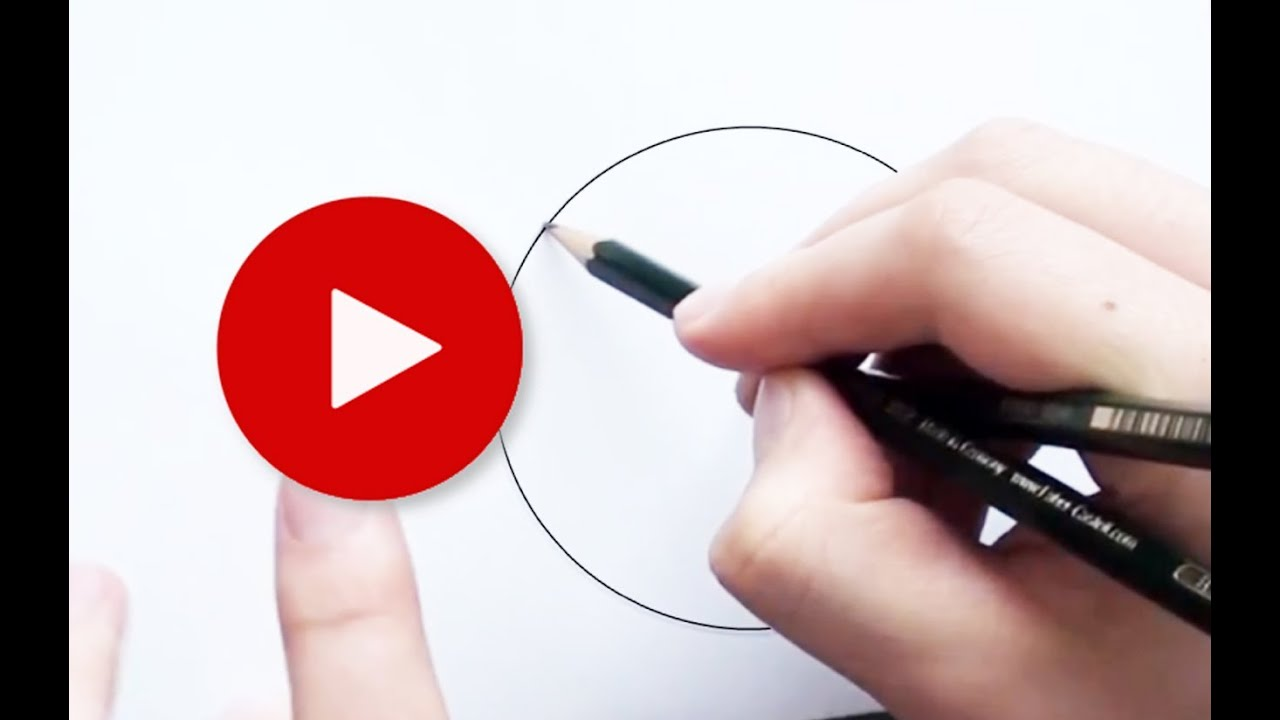 How To Draw A Perfect Circle With Pencil 2 Very Easy