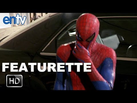"The Amazing Spider-Man ""The Suit"" Featurette: Andrew Garfield & Emma Stone Talk Spidey Costumes"