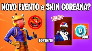 FORTNITE-EVENT of the HAMBURGÃO and SKIN ALPINE ACE FREE?