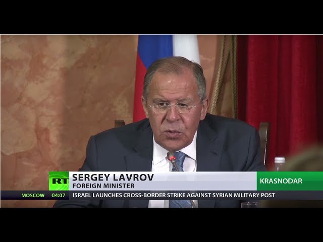 Lavrov: US claims on Syrian govt chemical allegations could encourage terrorists