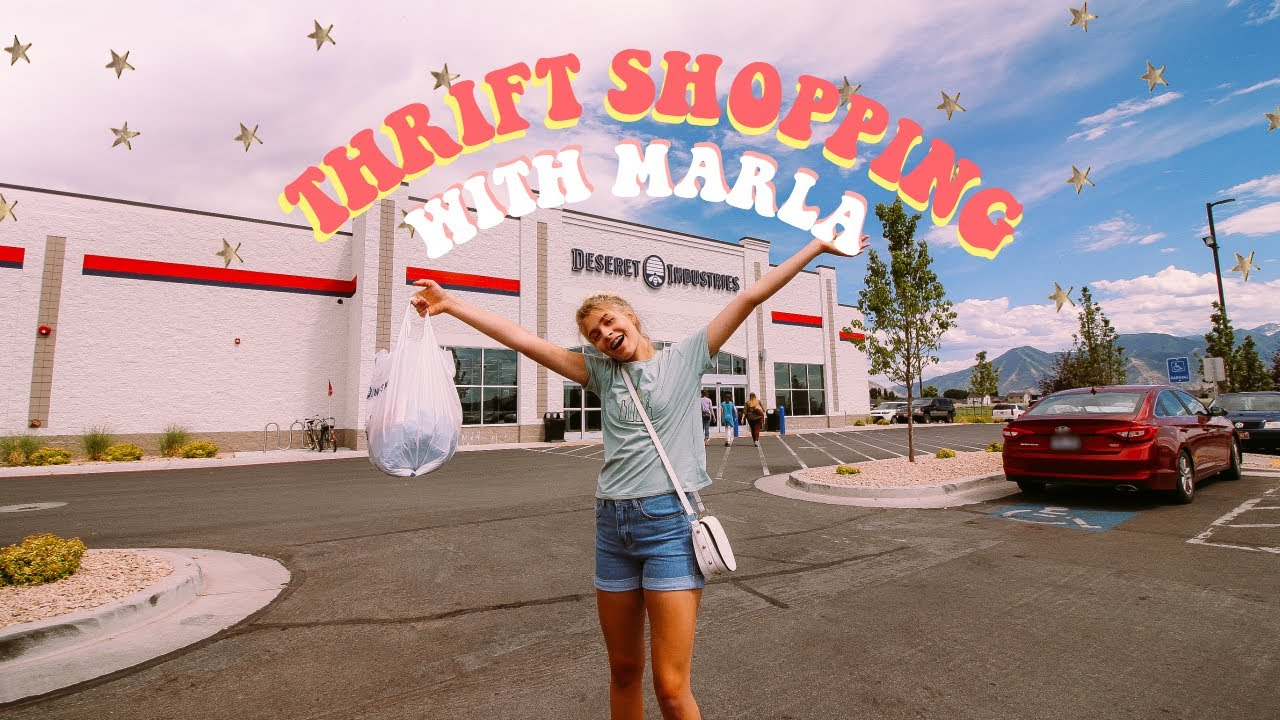 Come Thrift Shopping with Marla!