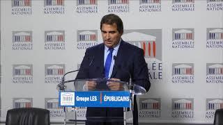 Conférence de presse du Président Christian Jacob du 24/10/2017