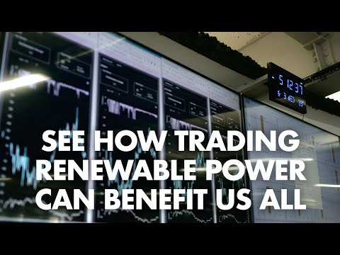 How can trading renewable power benefit us all? | Electricity