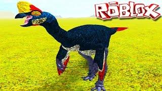 "Com Fome Carnotaurus! ""Oviraptor"" - France Primal Life ""Roblox"" (#10) (Gameplay/PT-BR)"