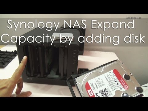 Synology NAS How To Expand The The Disk Volume (Capacity) Guide