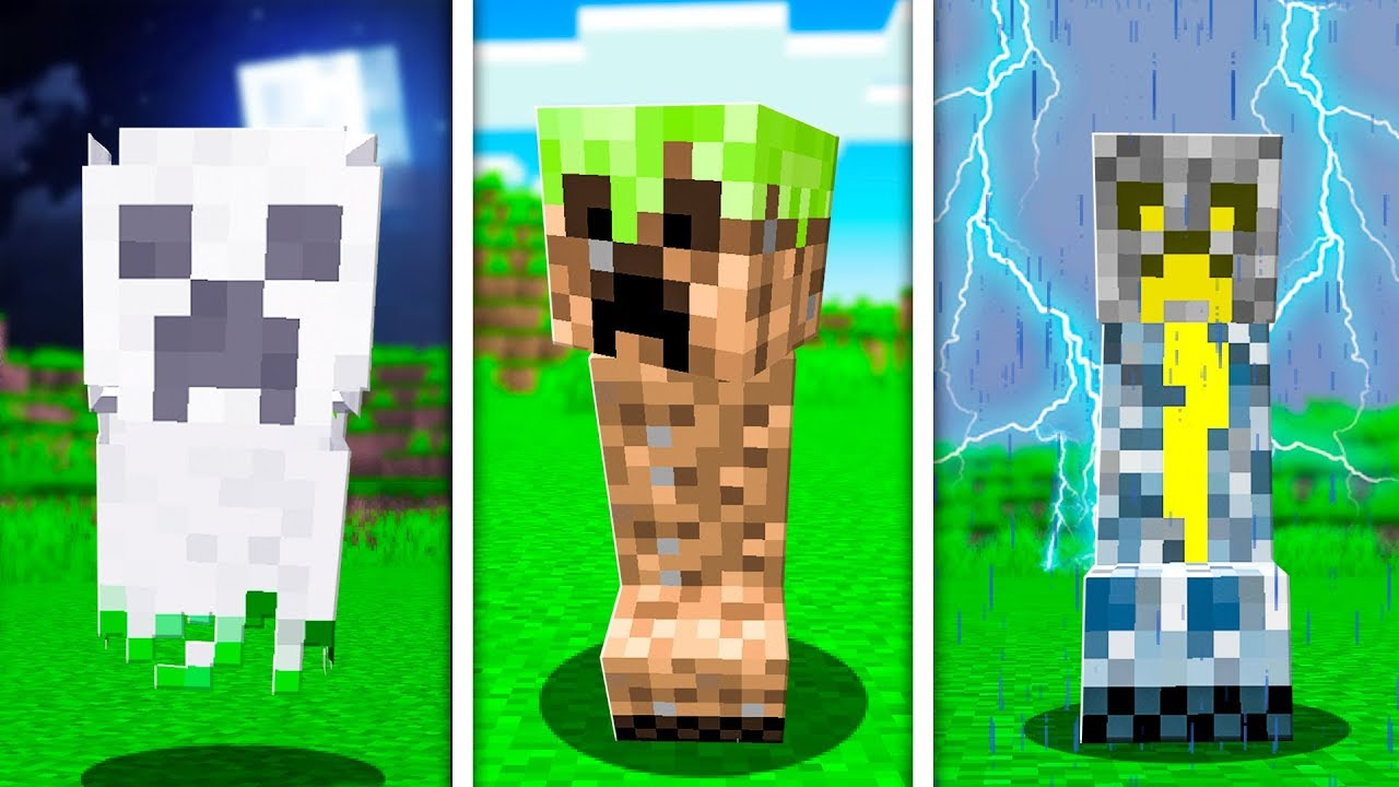 Download 7 NEW Creepers that MINECRAFT Should Add!