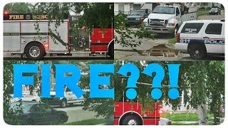 Жизнь в США: ПОЖАР через дорогу! | VLOG May 26th, 2014