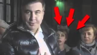 Саакашвили и эмоциональная журналистка