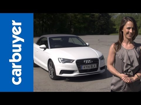 Audi A3 Cabriolet convertible 2014 review  Carbuyer